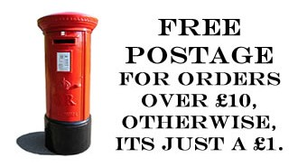 Postage for just £1.00.